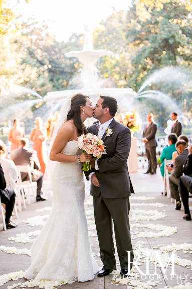 Forsyth Park Ceremony, Westin Reception planned by Avila Dawn Events
