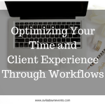 Business Basics: Optimizing Your Time and Client Experience Through Workflows