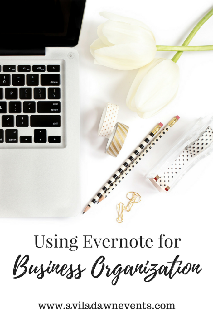Using Evernote for Business Organization