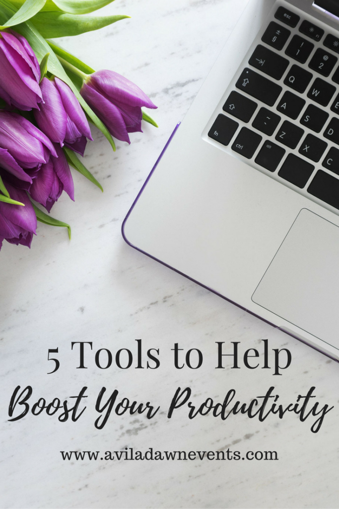 5 Tools to Boost Productivity, Wedding Planning Tools, SC Wedding Planner