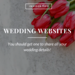 Insider Tips | Wedding Websites